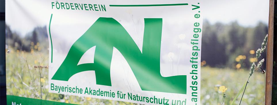 Plakat des Fördervereins.