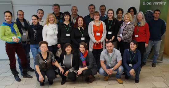 Photo of the participants from the ELENA kick-off meeting.