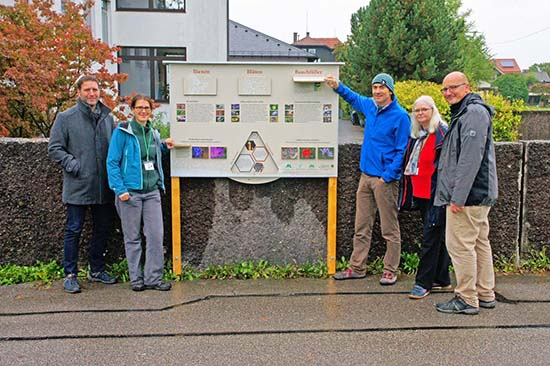Fort he realization oft he information board, ANL, biosphere Berchtesgaden and the Rottmayr secondary school worked hand in hand: Peter Loreth, Elisabeth Brandstetter, Hans Bresina, Ute Künkele, Wolfram Adelmann.