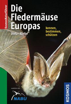 """Titelbild des Buches """"Die Fledermäuse Europas"""""""