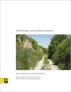 Titelbild des Buches mit einem tief eingeschnittenen, bewachsenen Hohlweg.