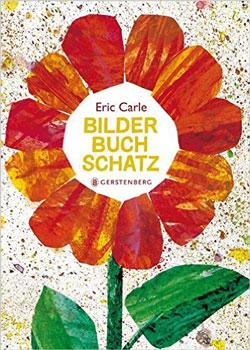 Gemaltes Titelbild vom Buch, auf der eine Collage einer großen roten Blume abgebildet ist.