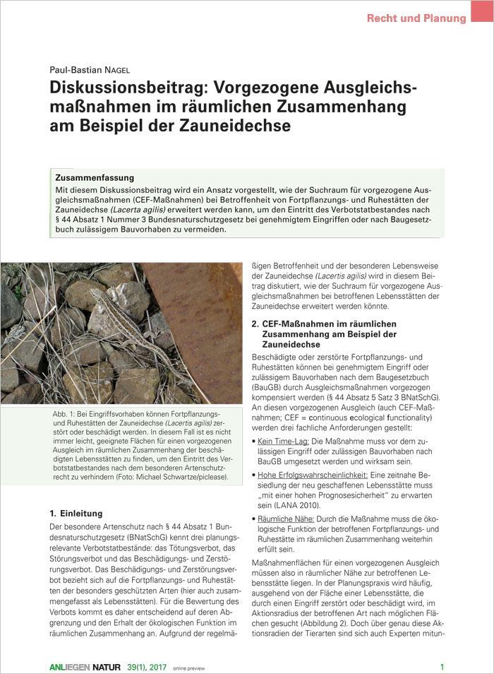 übersicht Der Publikationen Und Veröffentlichungen Der Anl