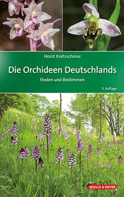 Das Titelbild ist aufgeteilt in 3 Fotos, die verschiedene Arten von Orchideen zeigen.
