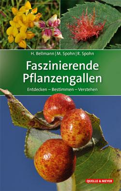 Das Titelbild ist aufgeteilt in drei Bilder von verschiedenartigen Gallen.