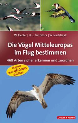 : Das Titelbild zeigt drei verschiedene Aufnahmen mit verschiedenen Vögeln im Flug.