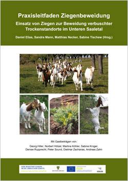 Auf dem Titelbild sind mehrere Fotos von Ziegen zu sehen.