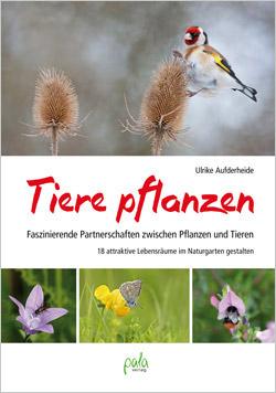 Das Titelbild ist aufgeteilt in verschiedene Fotos von Pflanzen und einem Vogel.