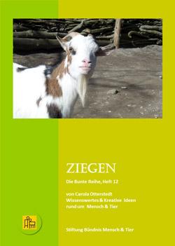 Das Titelbild zeigt eine Ziege in Großaufnahme.