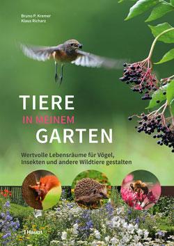 Das Titelbild zeigt Fotos einzelner Gartenbewohner.