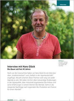 Titelbild des Interviews in ANLiegen Natur.