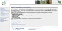 Internetseite des Fachinformationssystem zur FFH-Verträglichkeitsprüfung.
